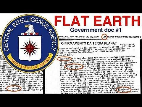 Documento da CIA mostra Sol e firmamento próximos e a Terra, plana