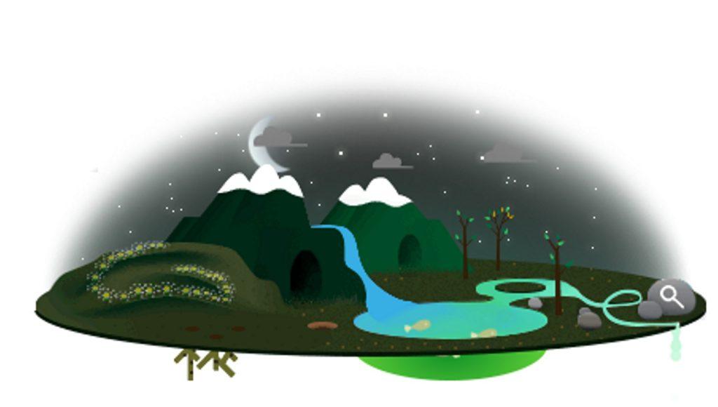 22/04: Dia da Terra Plana no Google em 2013