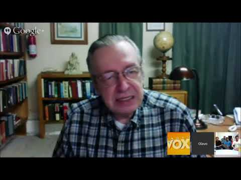 Filósofo Olavo de Carvalho defende o geocentrismo como cosmovisão