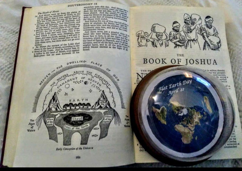Terra plana na Bíblia: Nada de novo DEBAIXO DO SOL